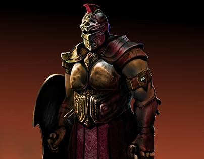 Centurion Character Design