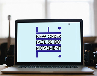 New Order Personal Project