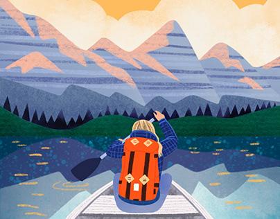 Sunrise Kayaking