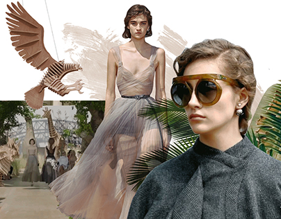 A Taste of Haute Couture // Motion Collages