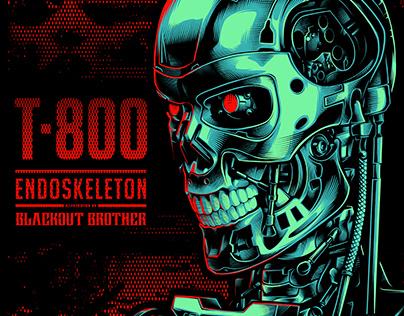 TERMINATOR T-800 ENDOSKELETON