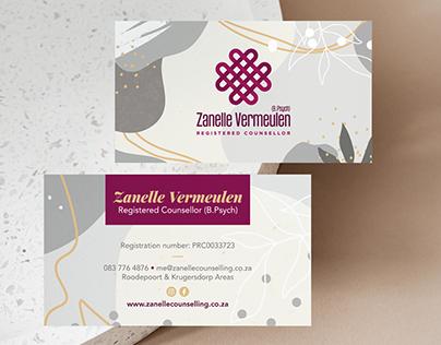 Zanelle Vermeulen Registered Counsellor