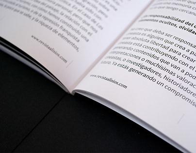Alisios Magazine #1 - Editorial