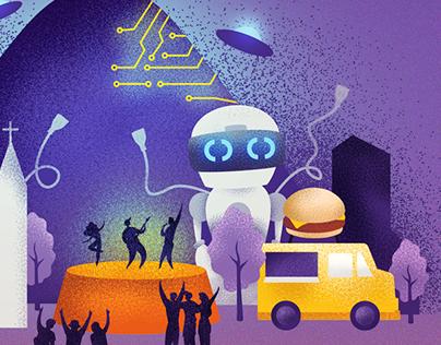 Ilustração - Cidade Criativa 2019