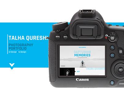 Photography Portfolio | UI & IxD