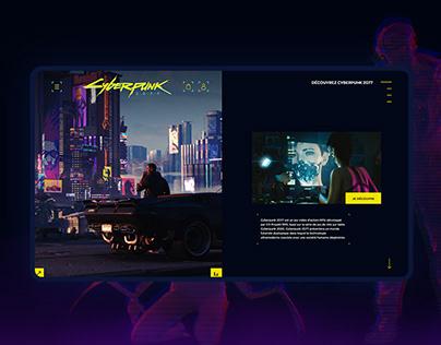 Cyberpunk2077 | Webdesign