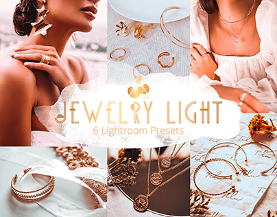 Jewelry Light Collection Lightroom Mobile Presets