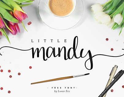 Little Mandy - Free font