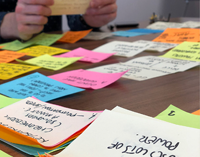 Design sprints for a brand new range of devices
