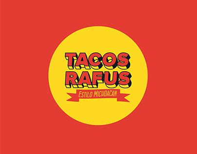 Tacos Rafus Branding