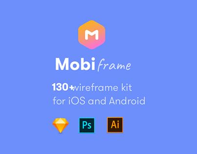 MobiFrame Wireframe Ui kit - Download Now