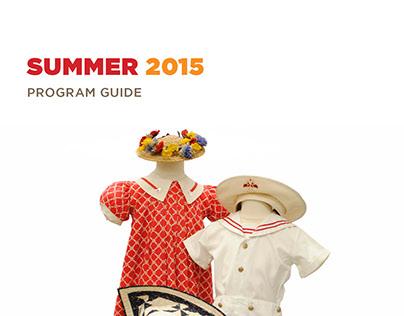 Morris Museum Program Guide - Summer 2015