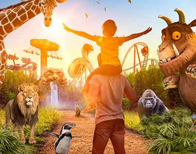 Chessington World of Adventures - Park Vista Key Art