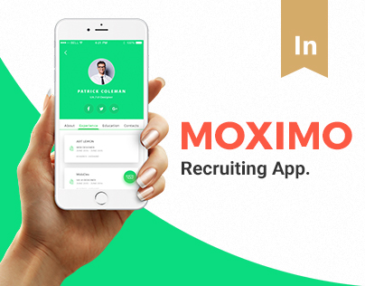 Moximo. Recruiting app.