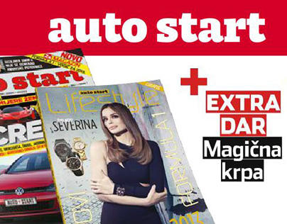"Flash banner for Magazine ""Auto Start"""