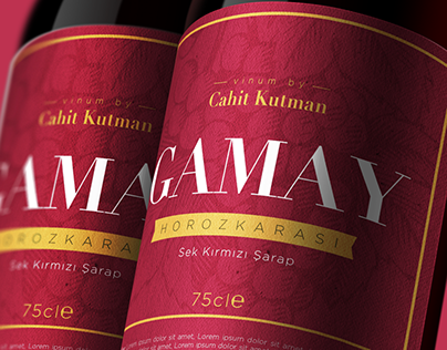 Kutman Winery / Gamay Package Design