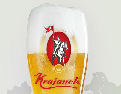 Identita pro český pivovar a restauraci Krajanek