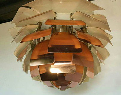 Restauro di un PH Artichoke by Louis Poulsen
