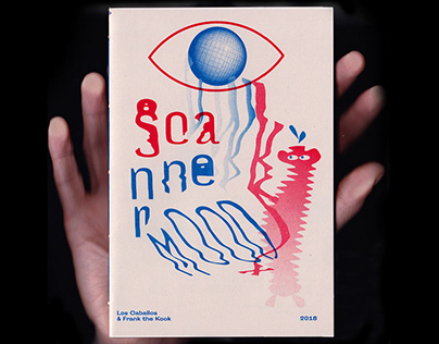 Scanner Mood - Riso Zine