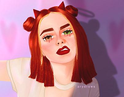 Luv • ilustración digital