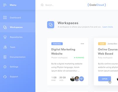 CodeCloud - Development Environment in the cloud