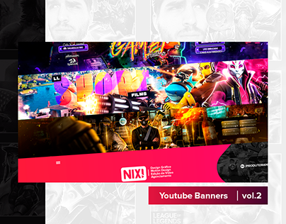 Youtube Banners vol.2