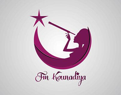 Logo réalisé pour FM Kounadiya
