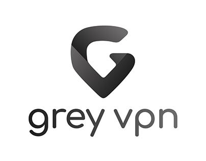 Grey VPN logo