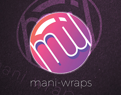 Incomplete - Mani Wraps Branding and Logo Design