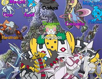 Legendary Pokemon - Sinnoh Region