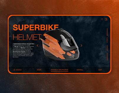 UI motorbike helmet online shop