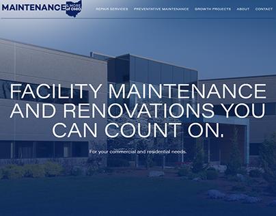 Maintenance & More of Ohio Branding and Website
