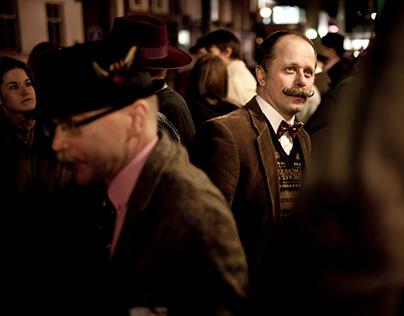 The Handlebar (Moustache) Club LONDON 07-03-2013