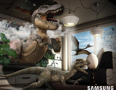 Samsung 3D Publicity