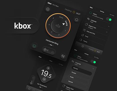 kbox - Controller UI
