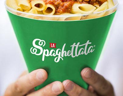 La Spaghettata. Brand Identity, Packaging and Logo.