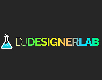 DJdesignerlab Logo Animation