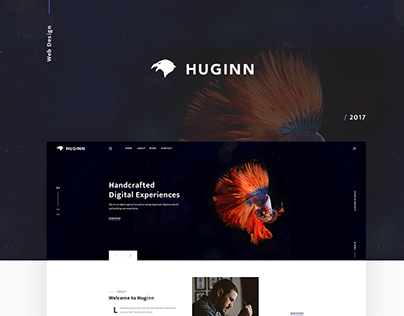 Huginn - Creative Multipurpose Portfolio Template