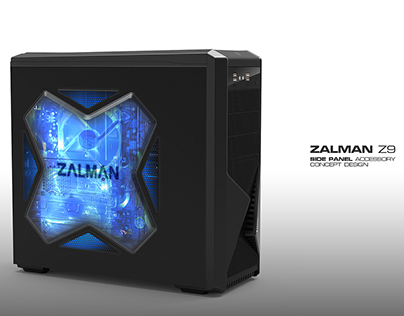 Z9 Side Panel V.A. for Zalman