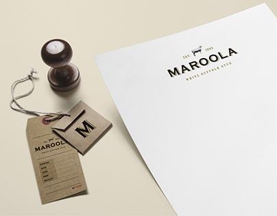 Maroola Stud | Graphic Design - Branding | Stationery