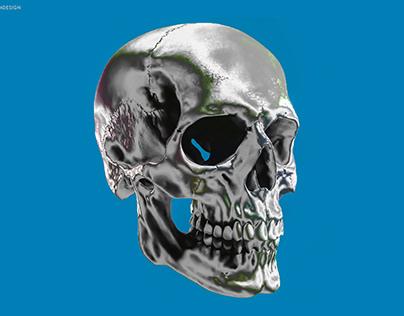 Metal Skull - visual experiment