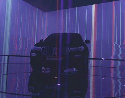 BMW X6 VANTABLACK IMMERSIVE SPACE