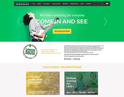 GreenBacks Pawnshop Website