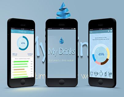 Mobile app My Drinks