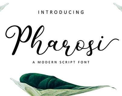 Pharosi Font (Free Download)
