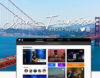 San Francisco #NowPlaying UX/UI