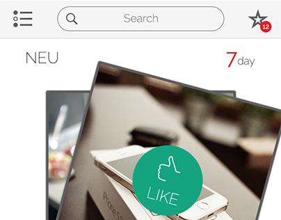 UI/UX Application Design for Swipe Sales