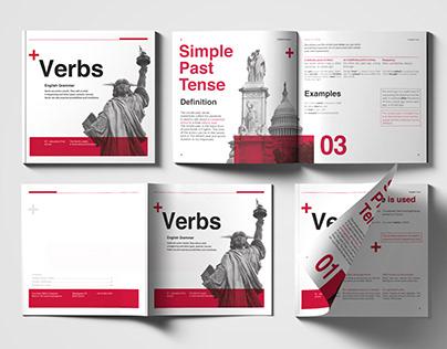 English grammar brochure for Education First