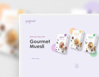 Yogood Website