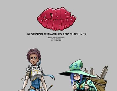 The Cummoner - designing characters